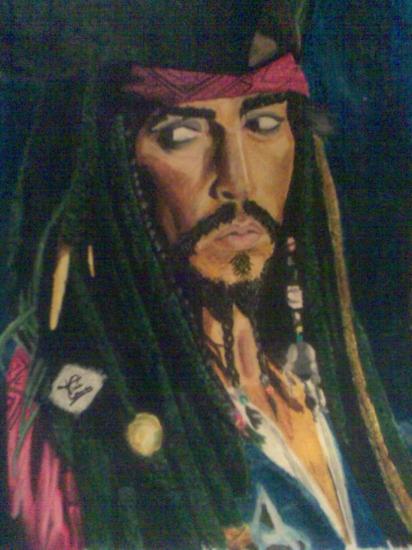 Johnny Depp by Tinajilla